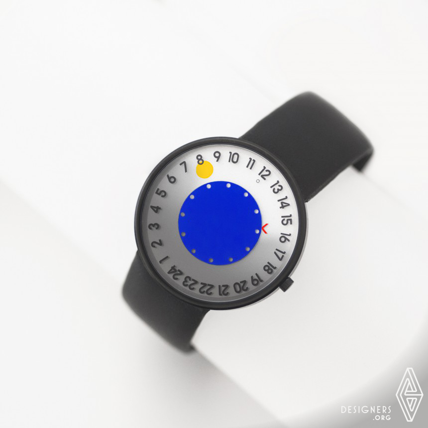 Giorno/Notte Wrist Watch