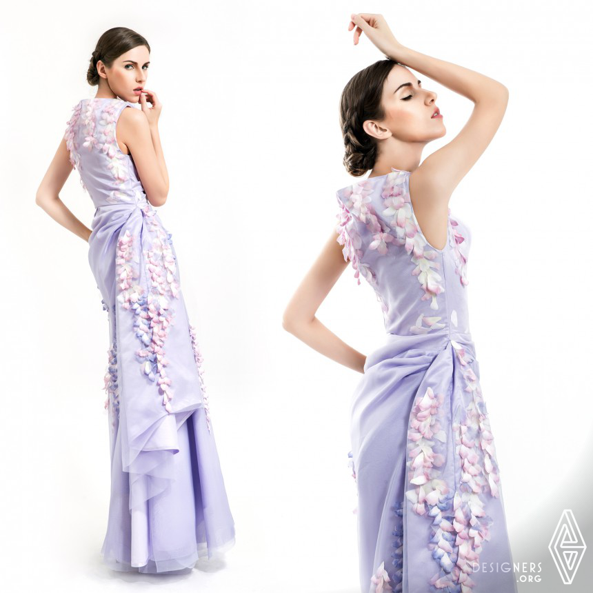 Oriental Garden Couture Dresses Collection Image