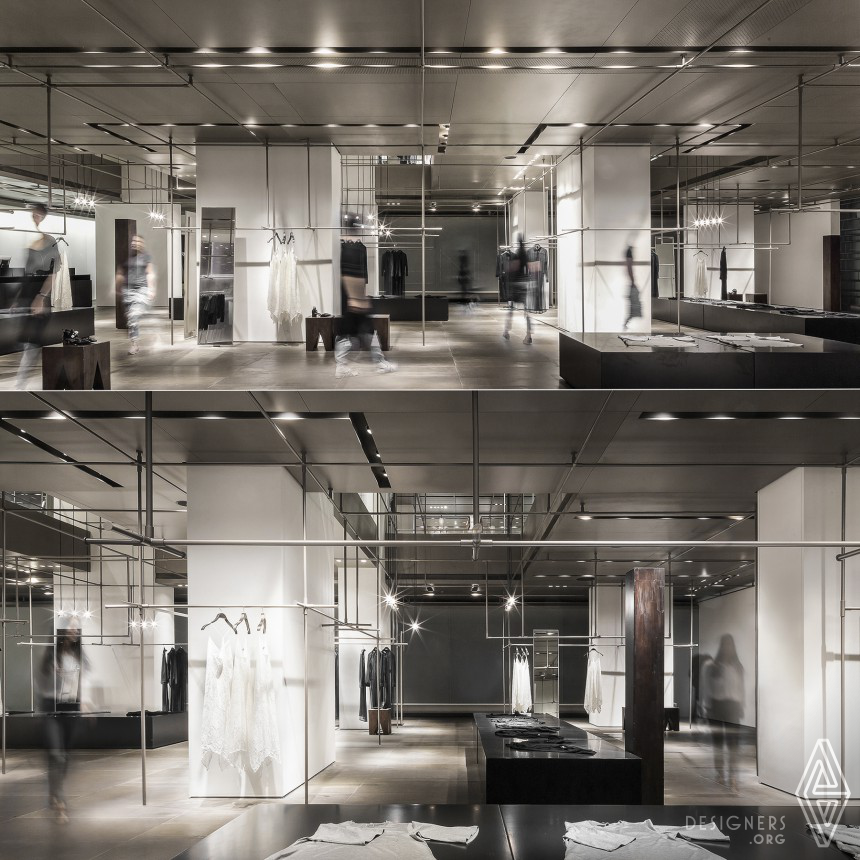 Inspirational Clothing Concept Store Design