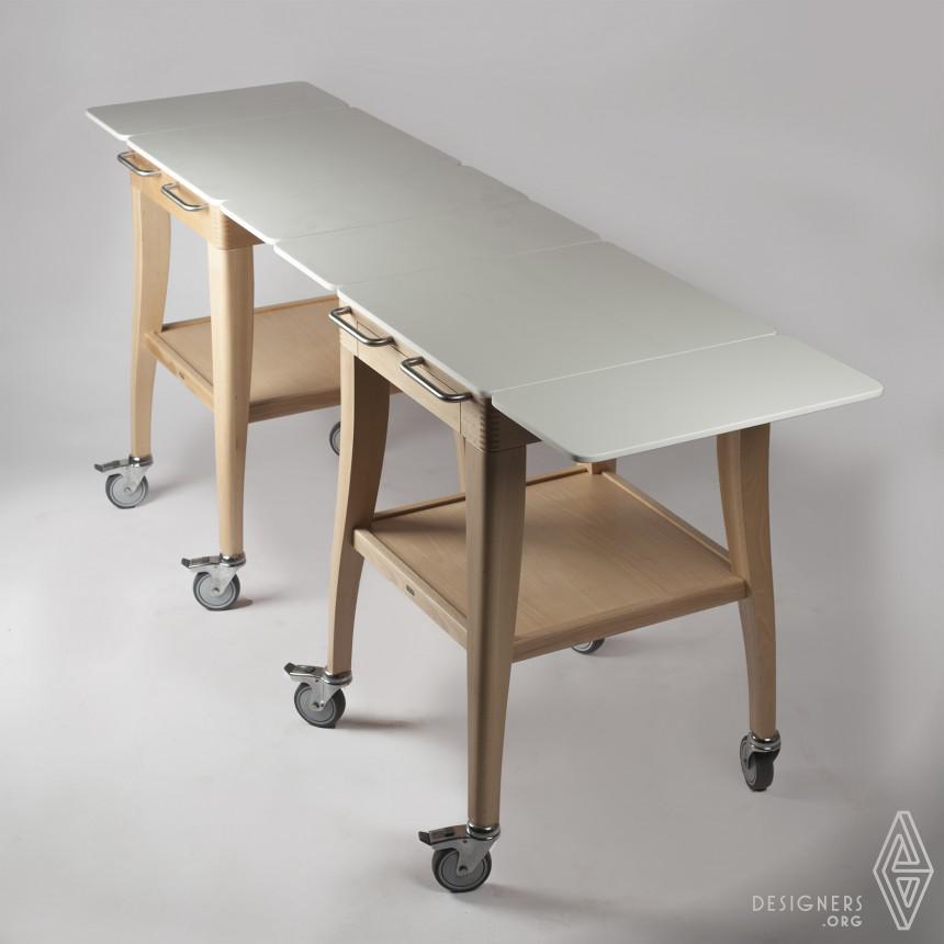 Inspirational Multifunctional trolley Design