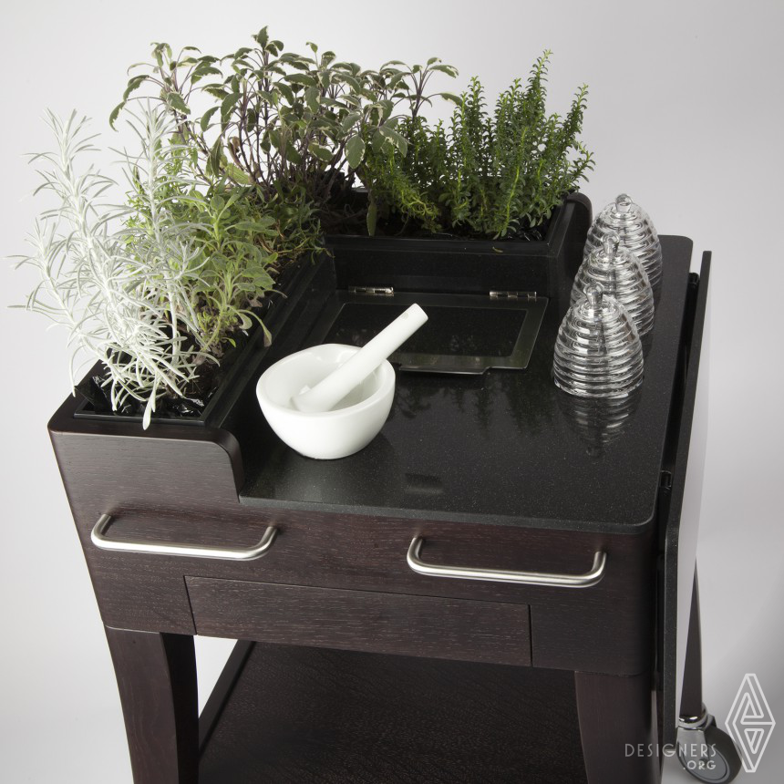 Inspirational Hot drink service with fresh plants Design