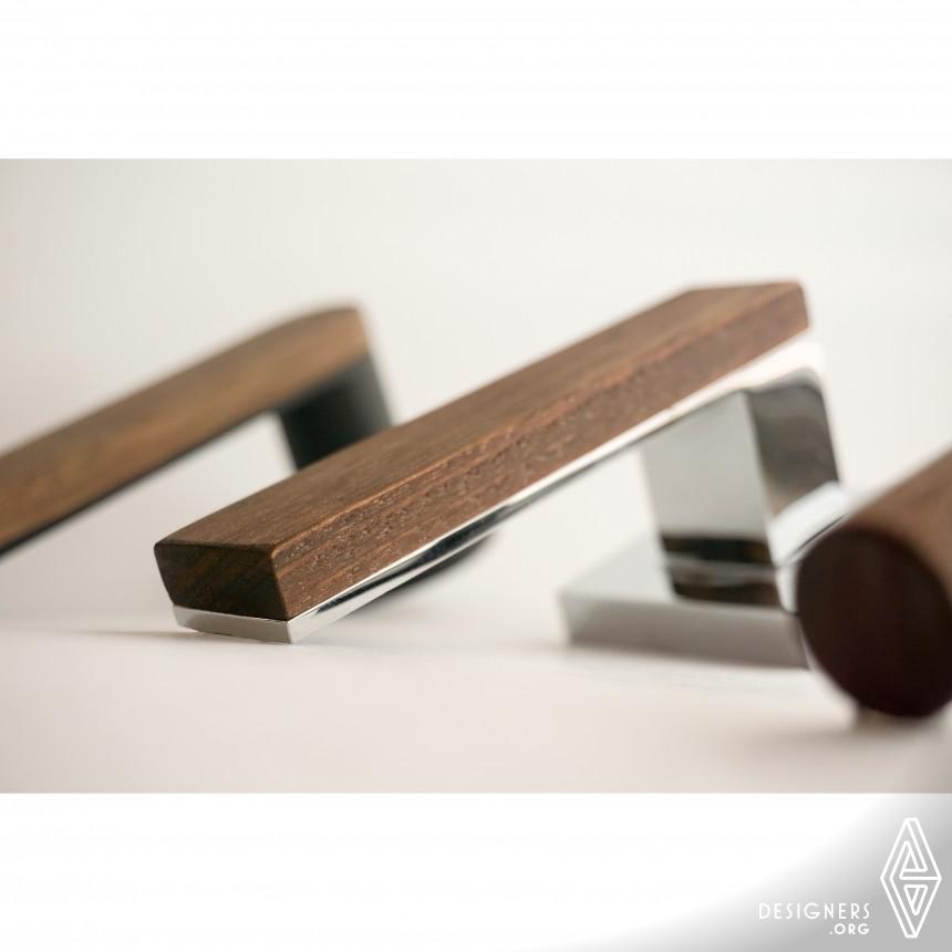 Monte Timber Collection Door Handle