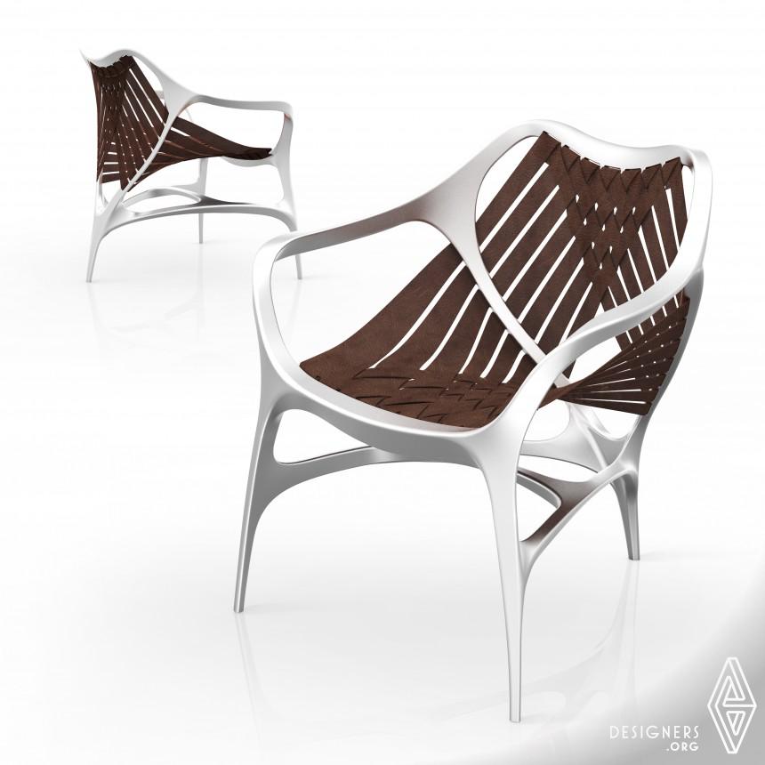 Manta Chair Bionic Design, Comfortable use
