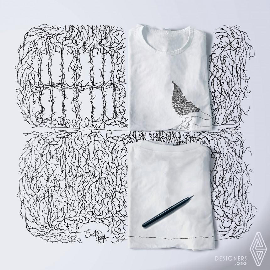 Somnium Water-Repellent & Oil-Resistant T-Shirt