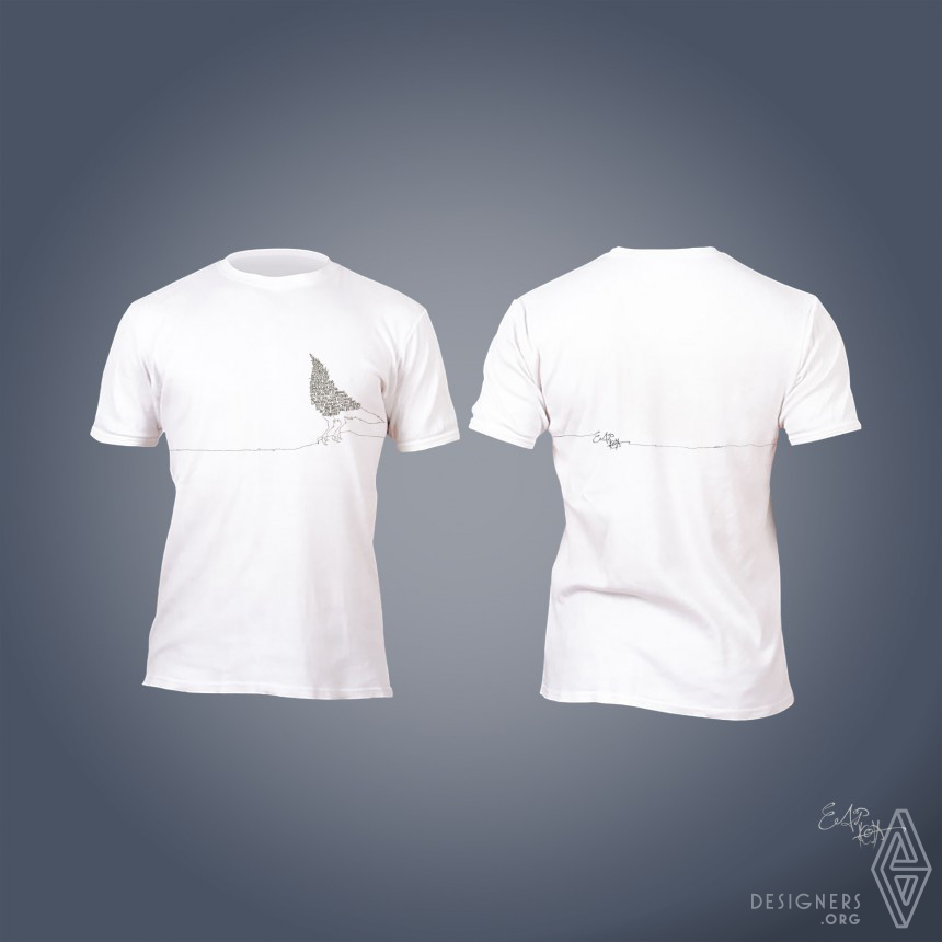 Inspirational Water-Repellent & Oil-Resistant T-Shirt Design