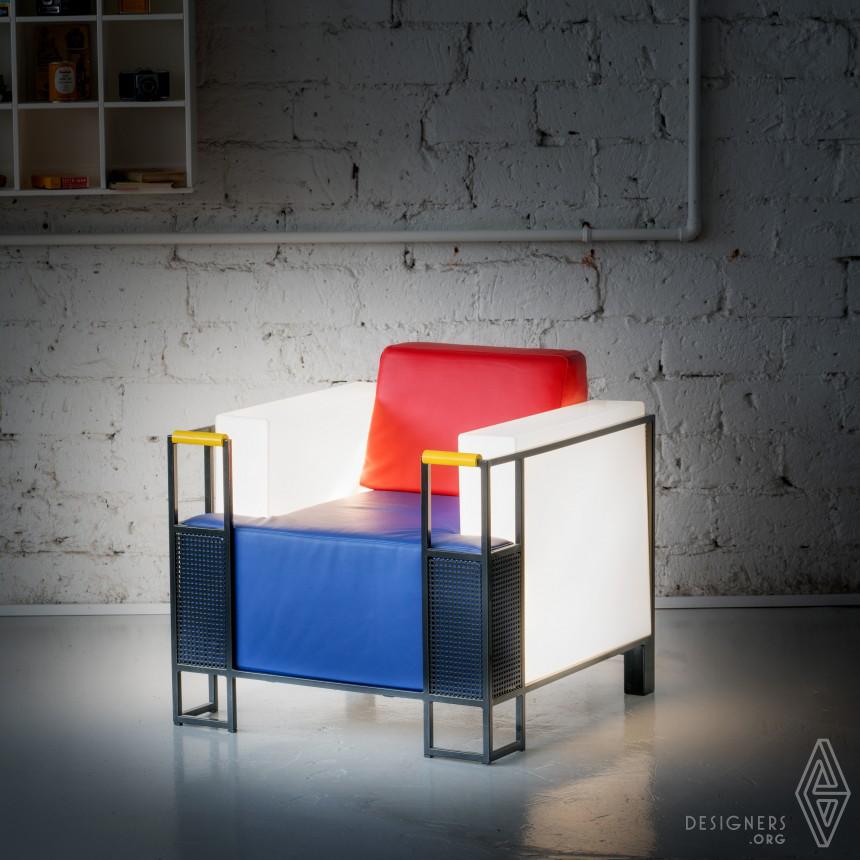 Cubic Slim Chair