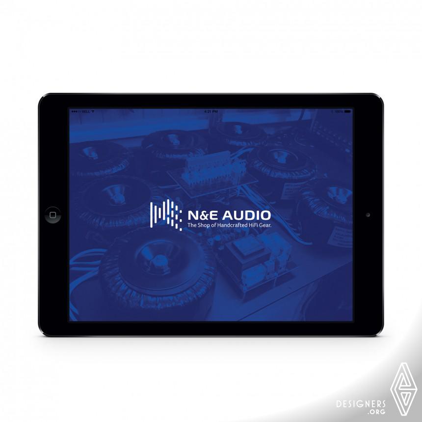 N&E Audio Logo Image