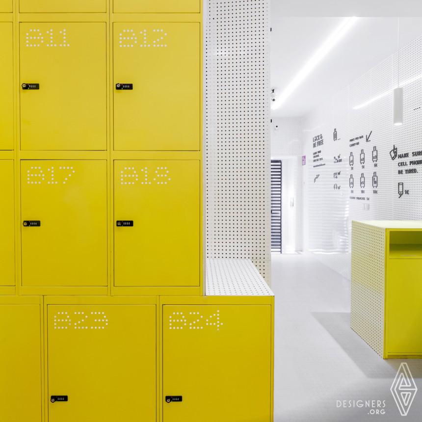 Inspirational Urban locker Design