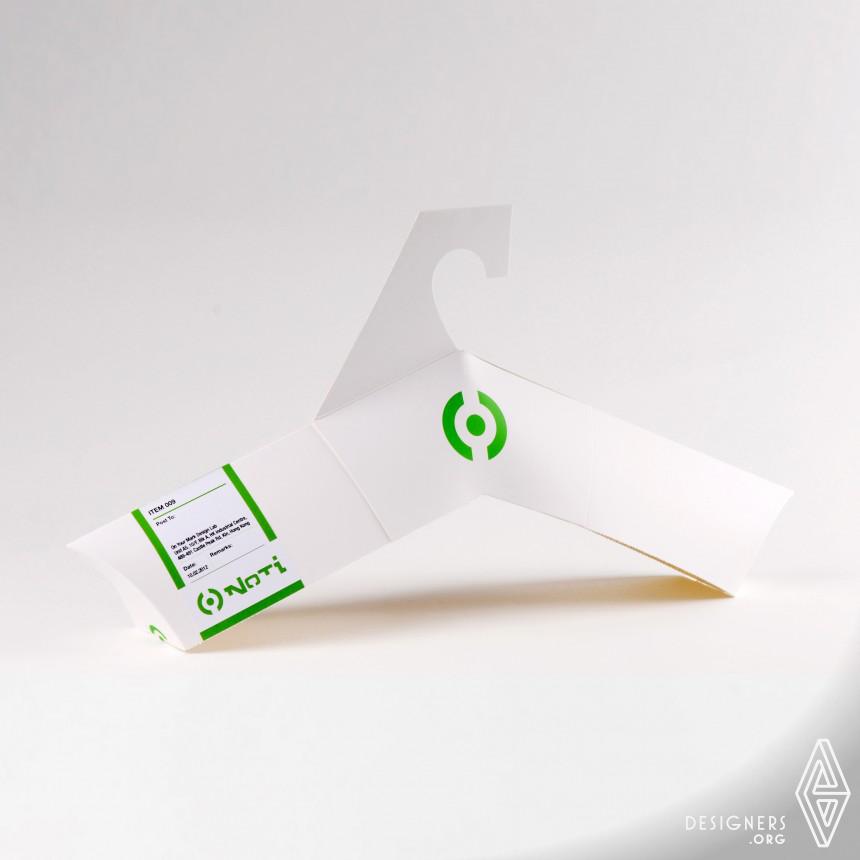 Noti D.I.Y. Hanger Packaging Green Packaging Transformation