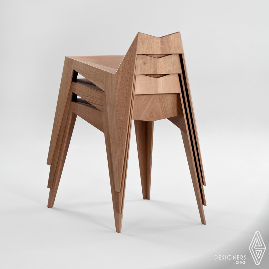 Stocker Chair, Stool Image