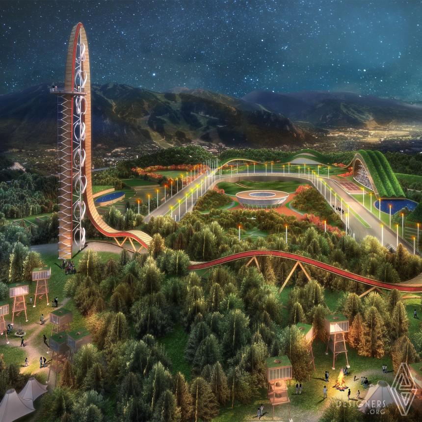 Inspirational Eco Friendly Theme Park Design