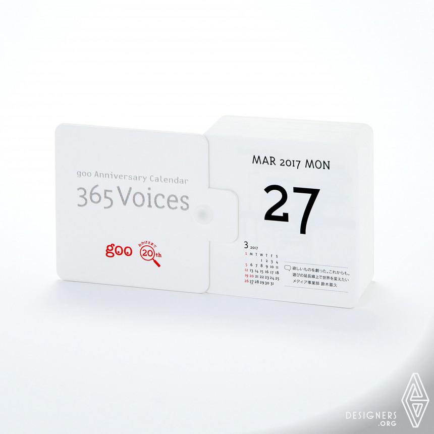 365 Voices Calendar