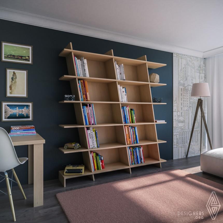 SLant Bookcase