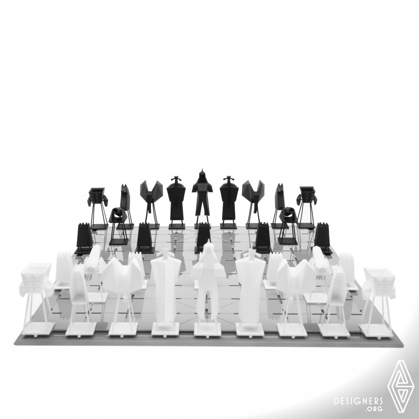 CHESS DRAMA Three-dimensional Chinese chess