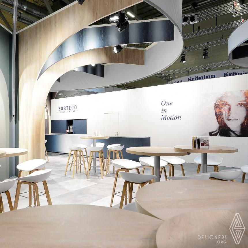 Inspirational SURTECO fair stand Design