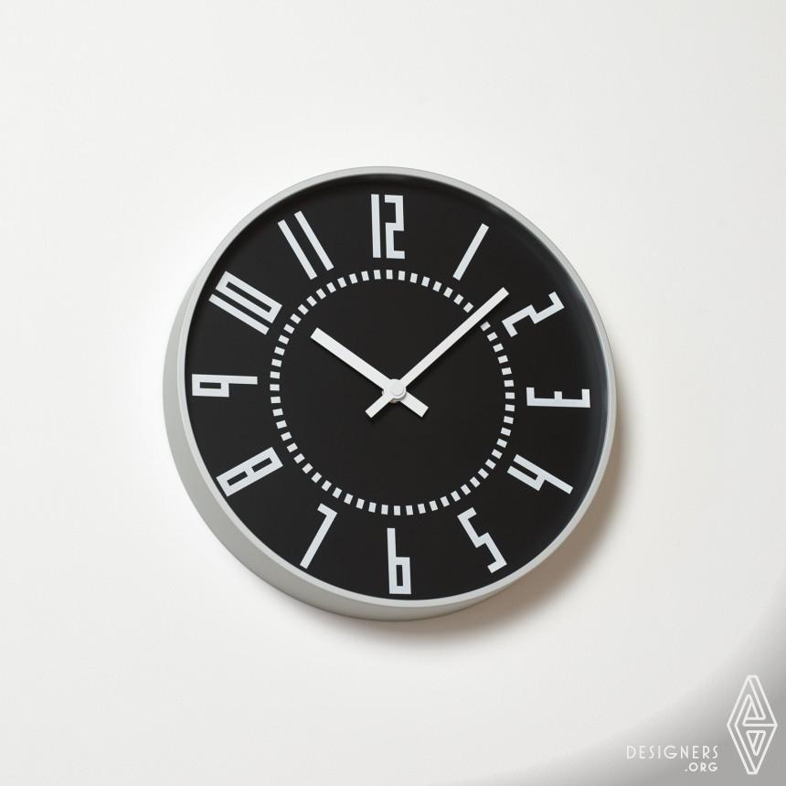 Inspirational Wall clock Design