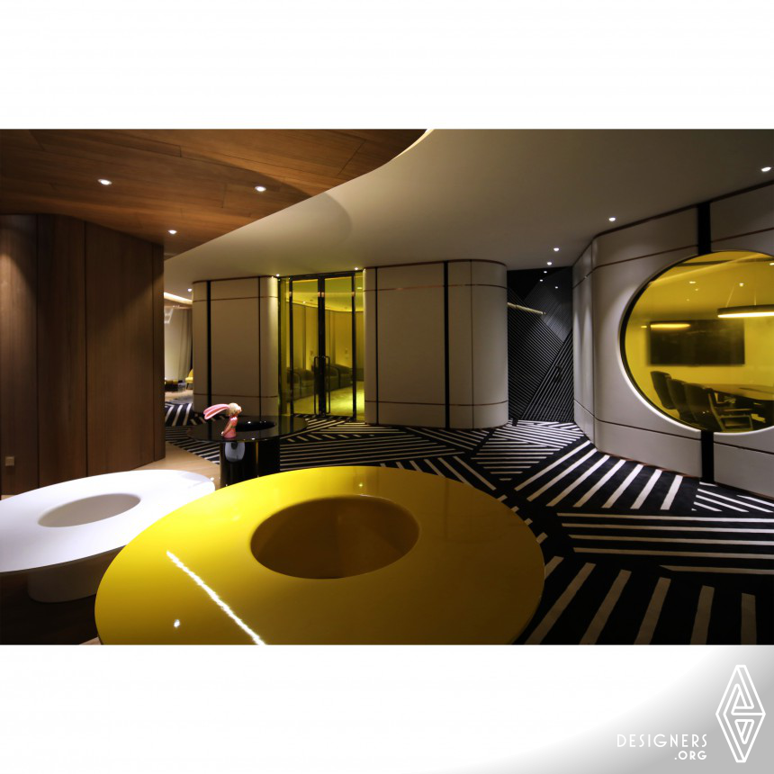Huahong Office II Interior Space