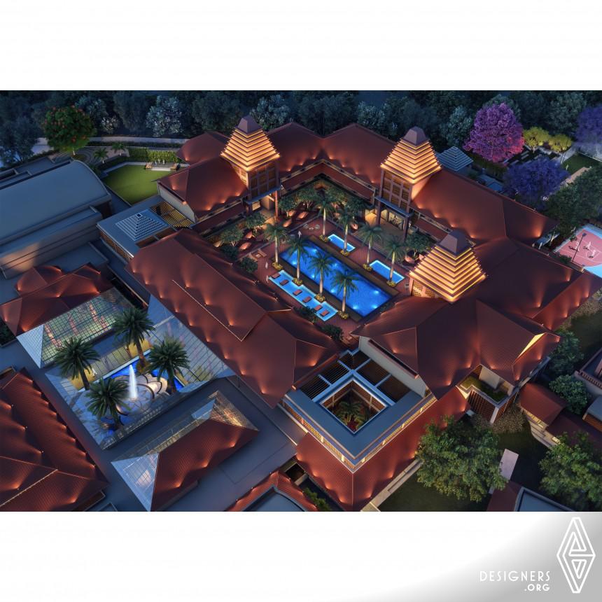 Rustic Elegance Club House Landscaping