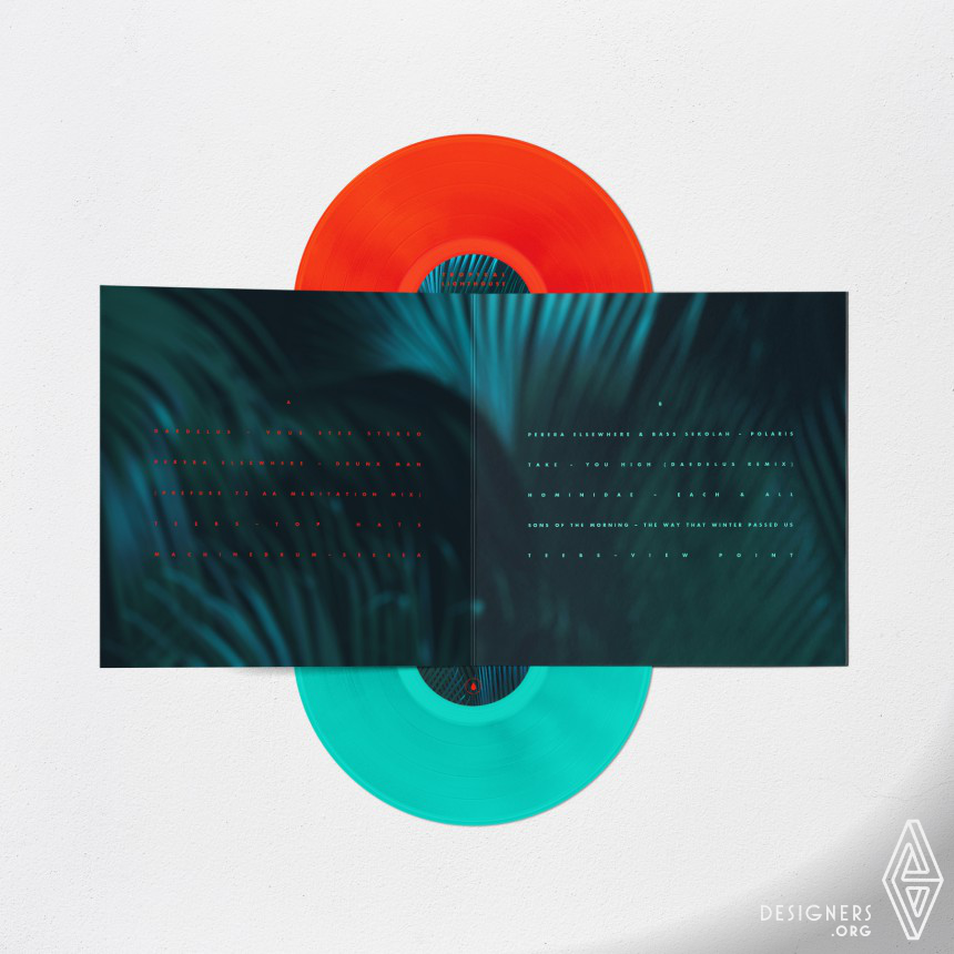 Tropical Lighthouse Vinyl record Image