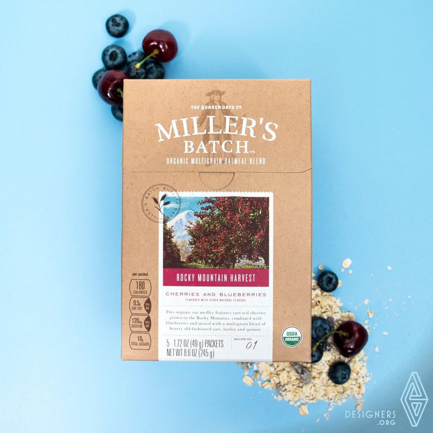 Miller's Batch Brand Packaging Image