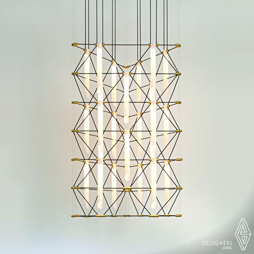 Mozaik system Modulable lamp