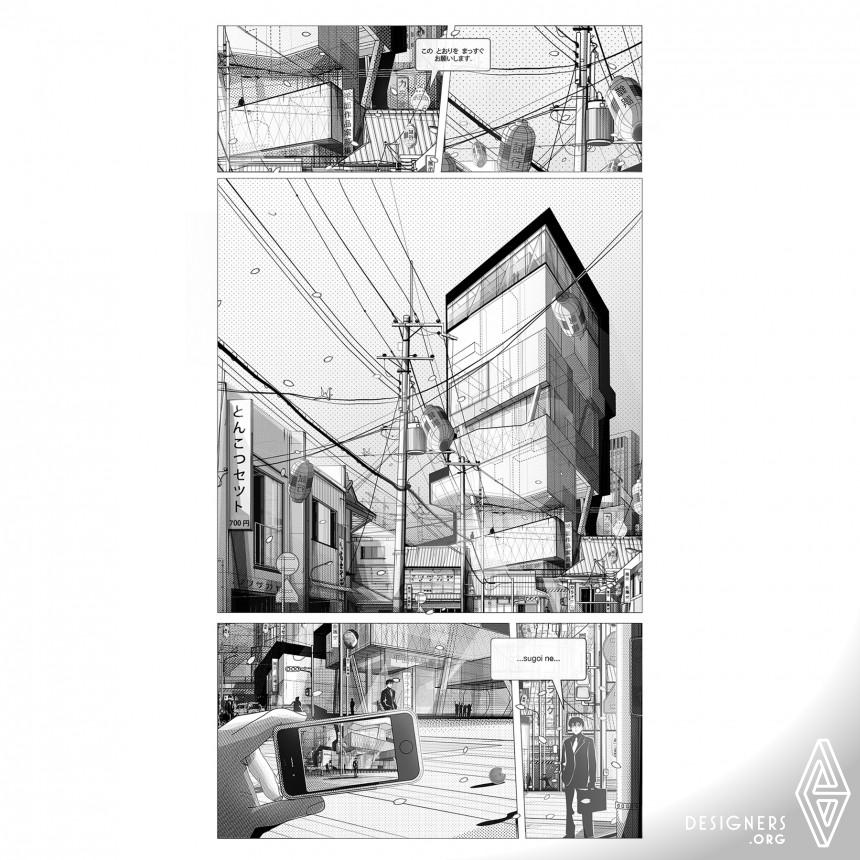 Tokyo Metropolis Architectural Illustrations Image