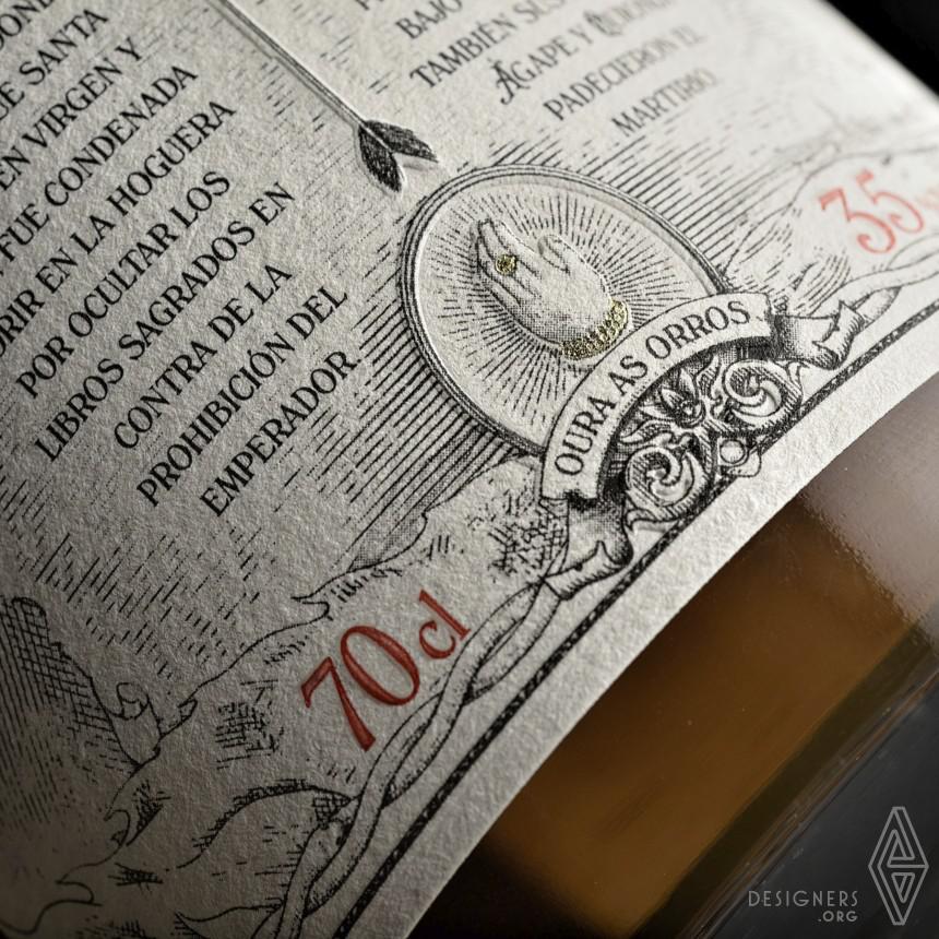 Inspirational Rum Bottle Design