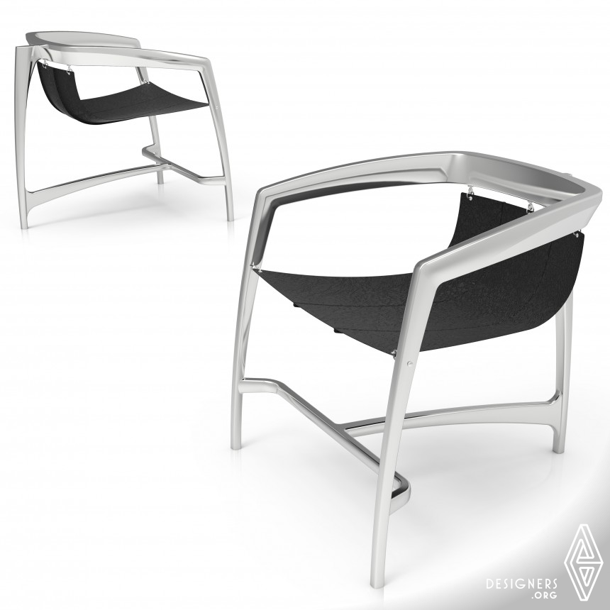 WEI Chair Abstract shapes