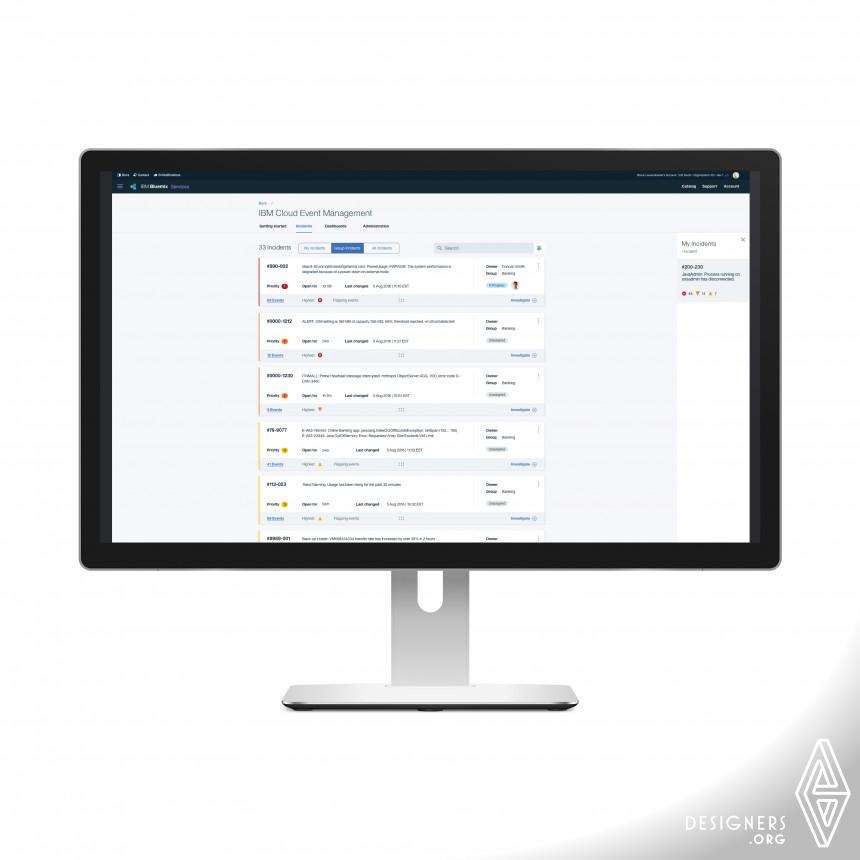 IBM Cloud Event Management Software Application