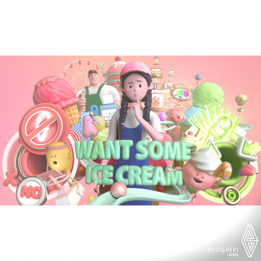 WANT SOME ICE CREAM 3D Animation