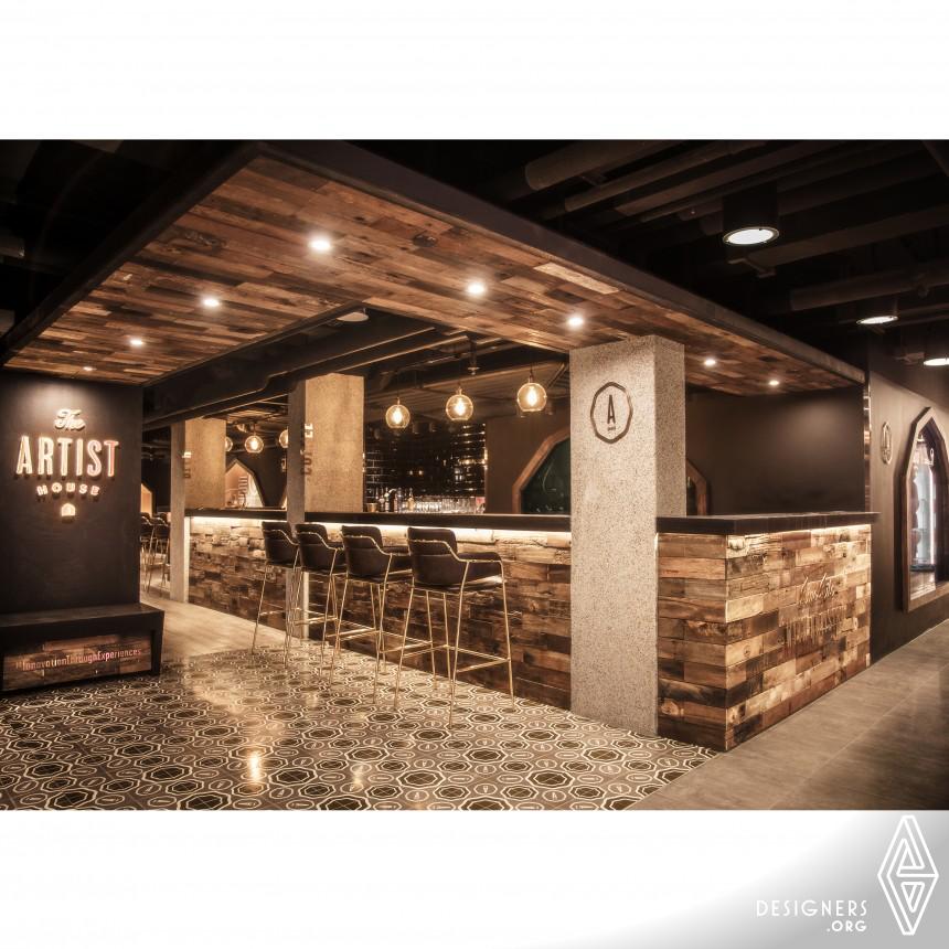 The Artist House Bar with Aqua Farm