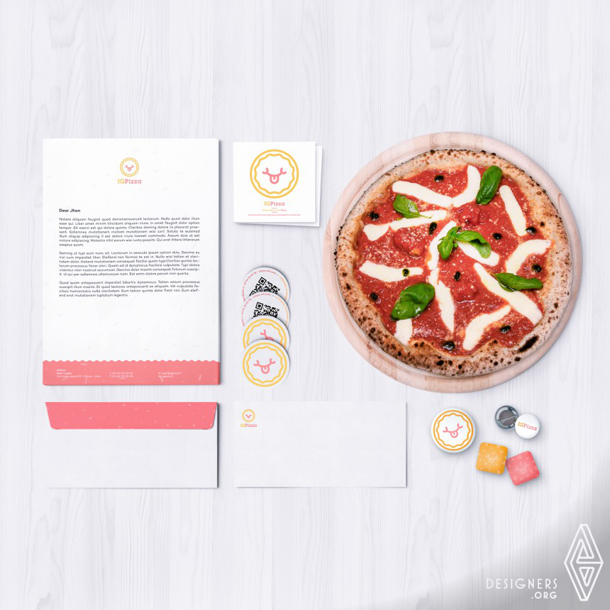 IGPizza Corporate Identity Image