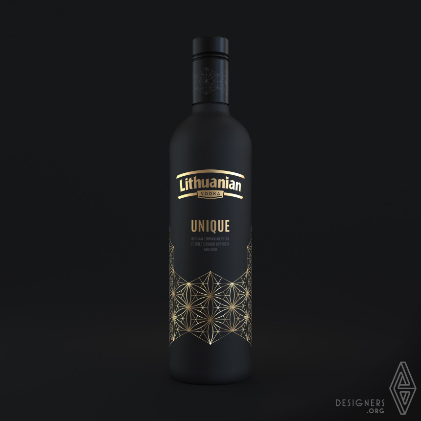 Lithuanian Vodka Unique Packaging Design