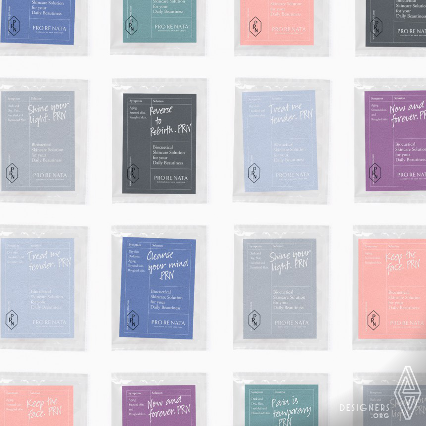 Inspirational Cosmetic Brand Identity & Package Design Design