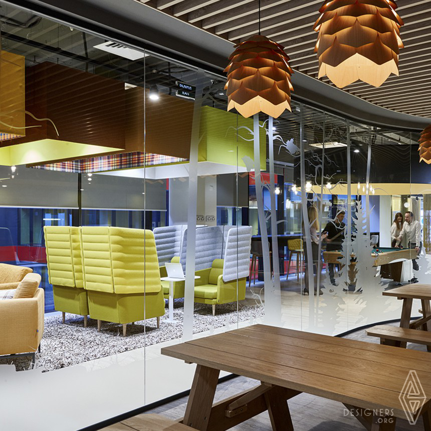 Sberbank Office Design