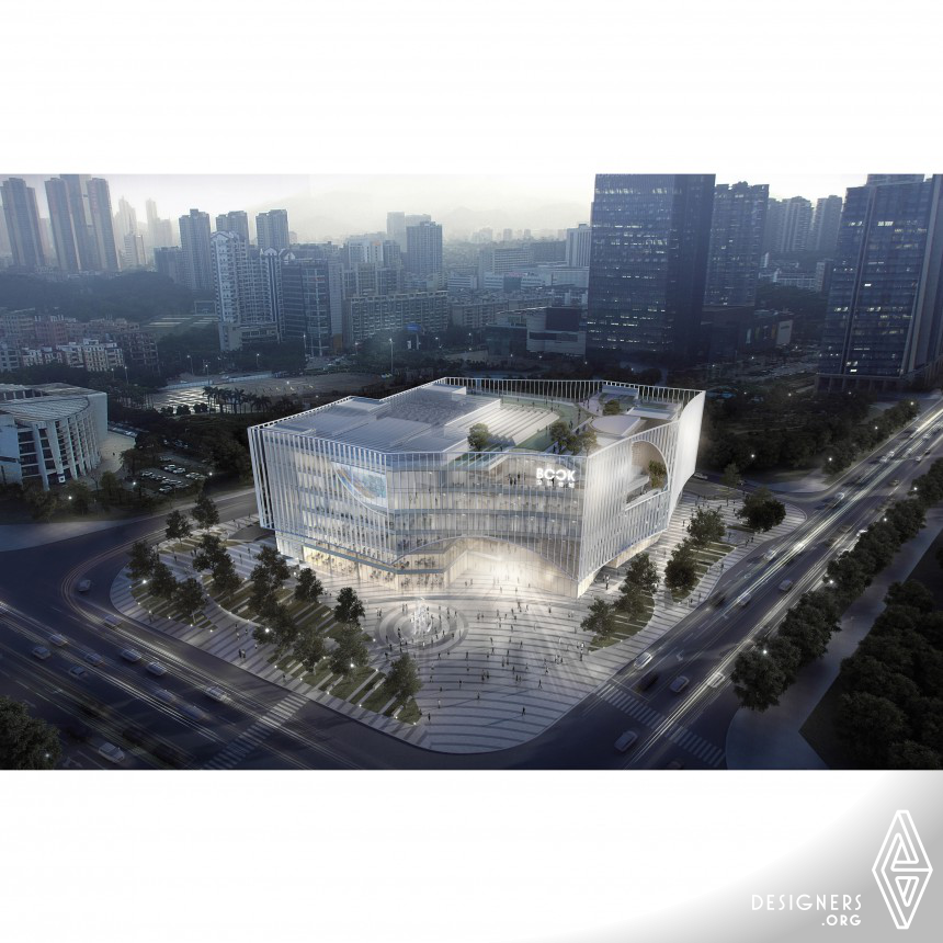Shenzhen Book City Cultural space and library