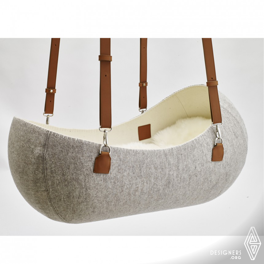 """little nest""  Cradle - baby bed Image"