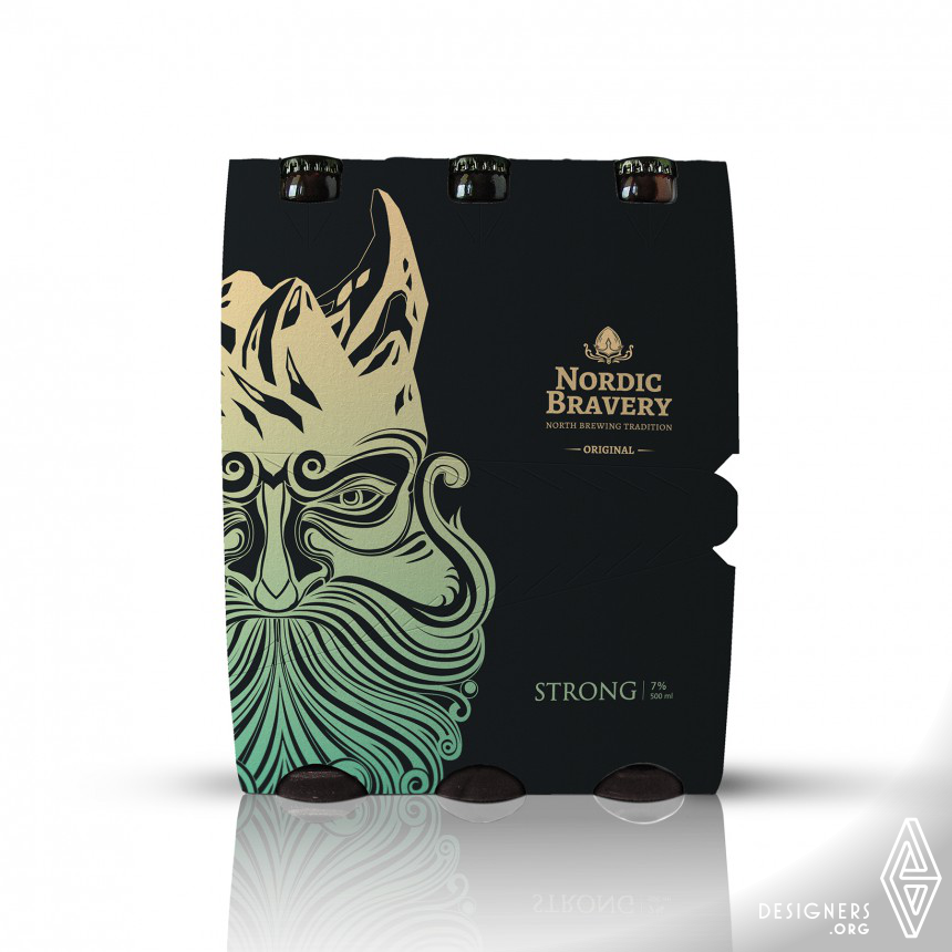 Nordic Bravery  Label and Packaging Image
