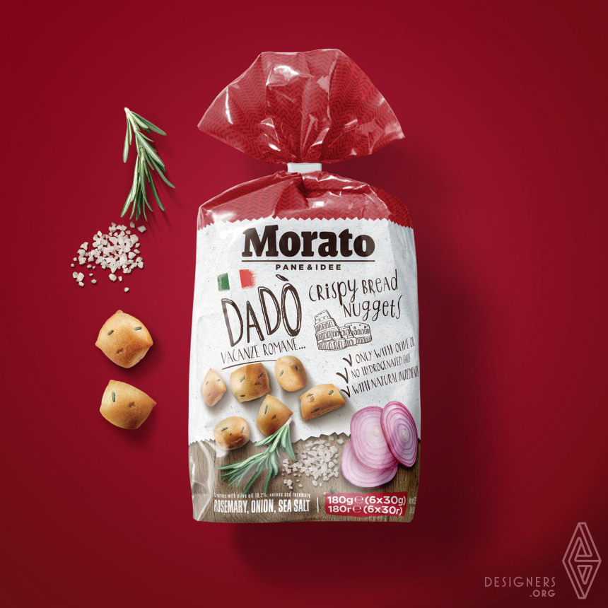 Morato packaging Identity