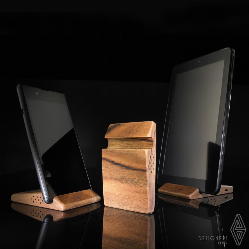 Timber Multifunctional Phone Holder