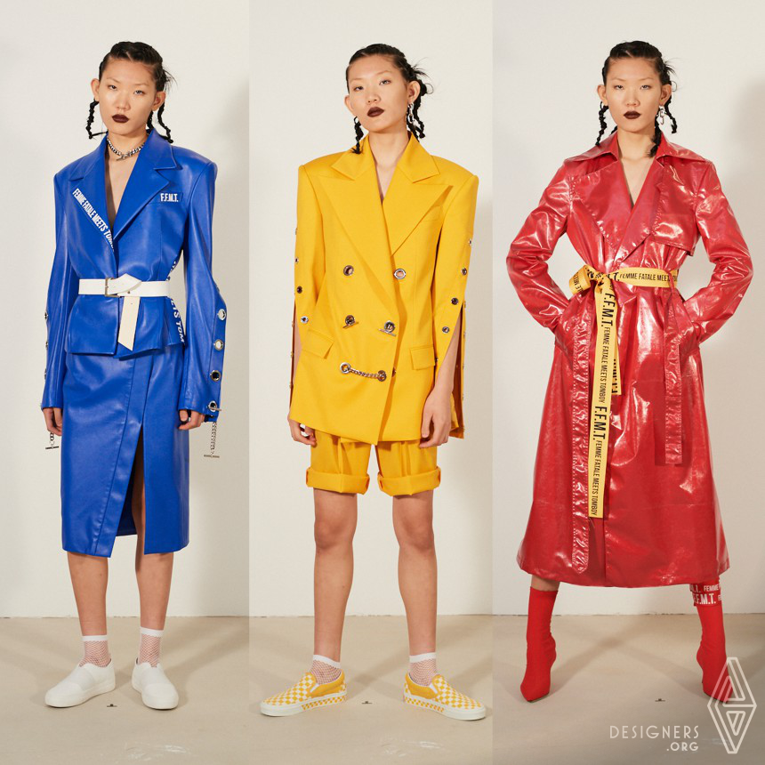 Femme Fatale Meets Tomboy Ready-to-Wear Collection for Women
