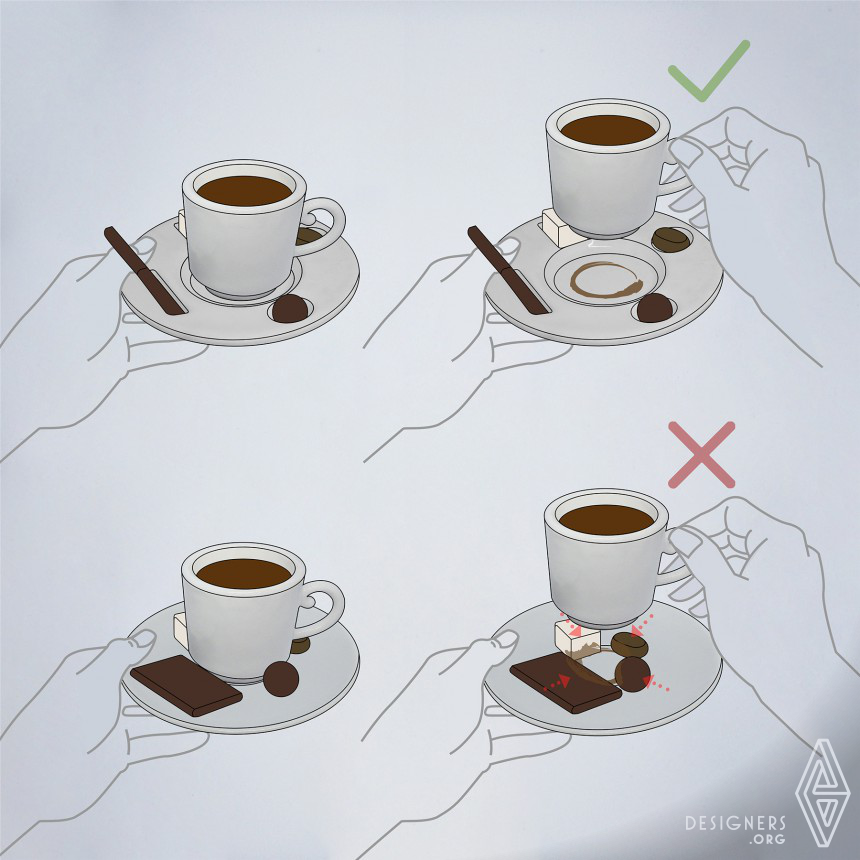 WithDelight Coffee Cup and Saucer Image