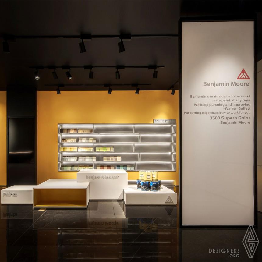 Benjamin Moore Wuxi Showroom