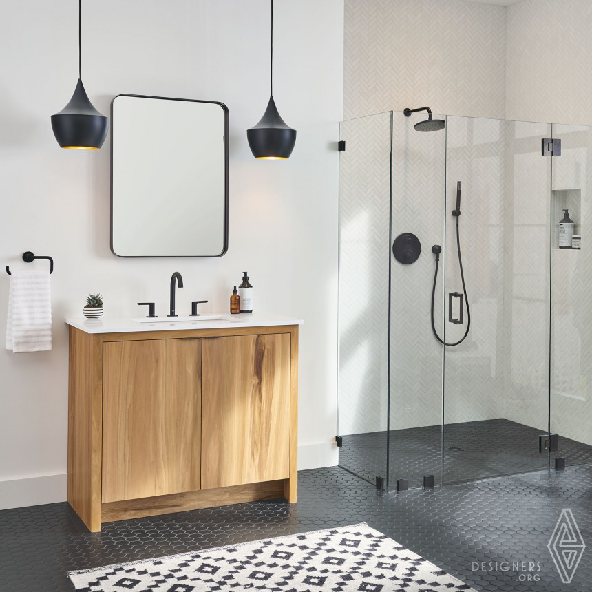Studio S Matte Black Bathroom Faucets and Accessories Image