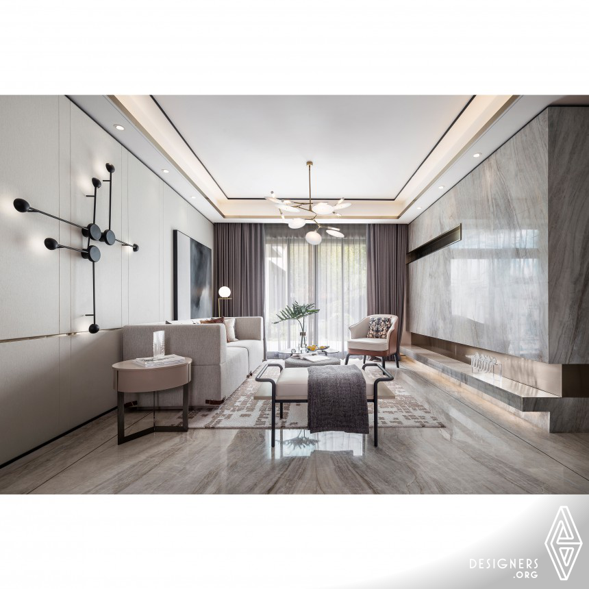 Fenghua Mansion Villa Sample Room