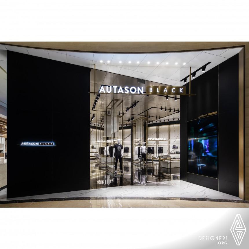 Autason Black Store Clothing Concept Store
