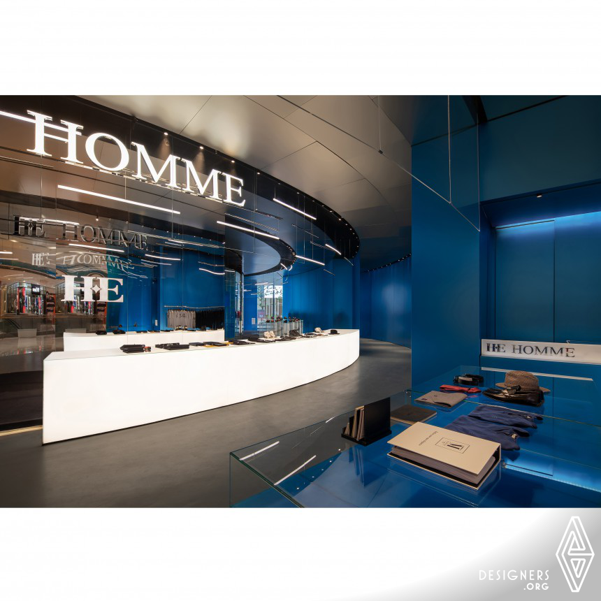 He Homme High-End Couture Men's High-end Tailor Interior