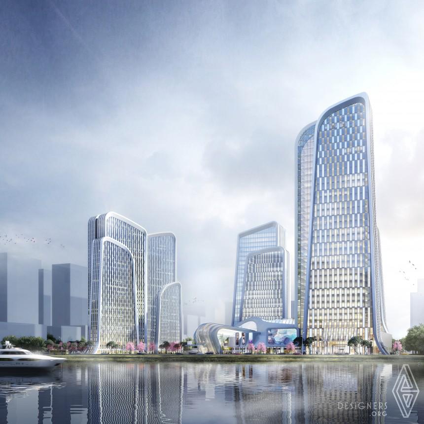 Shan Shui Plaza Mixed Use Architecture