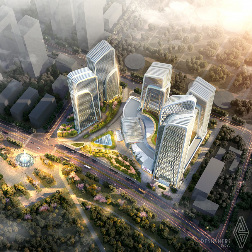 Shan Shui Plaza Mixed Use Architecture Image