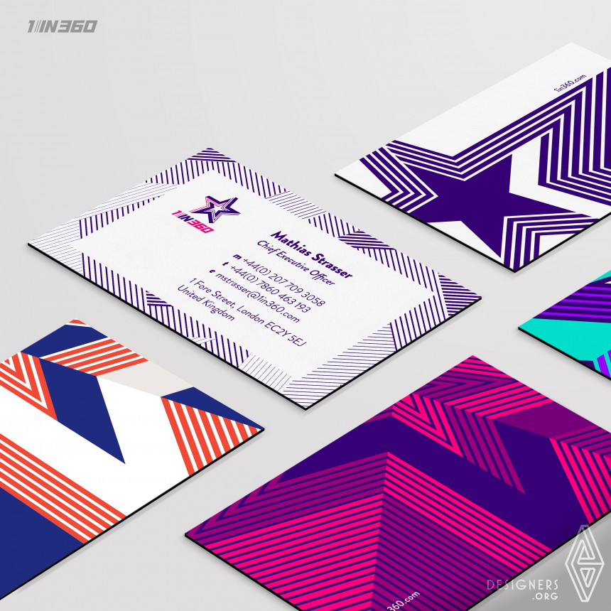 1in360  Brand Identity Redesign